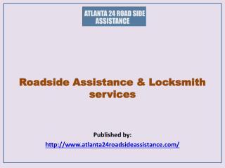 Roadside Assistance & Locksmith services