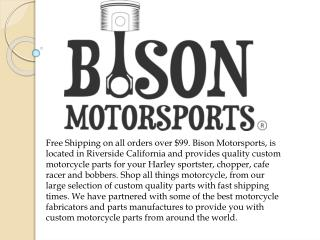 Bison Motorsports - Variety of Motorcycle grips