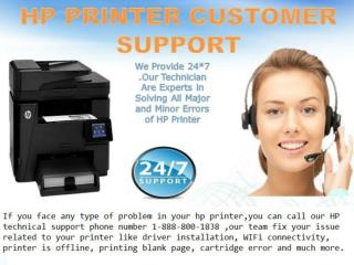HP online technical support phone number 1-888-800-1838