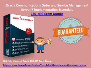 Download Valid Oracle 1Z0-493 Exam Questions - 1Z0-493 Dumps PDF