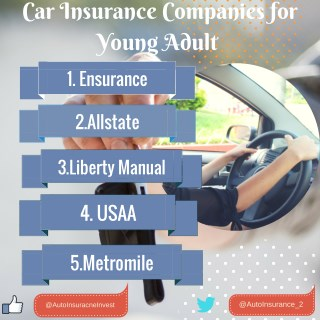 Car Insurance Companies for Young Adult
