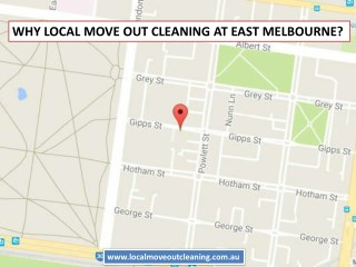 Why Local Move Out Cleaning At East Melbourne?