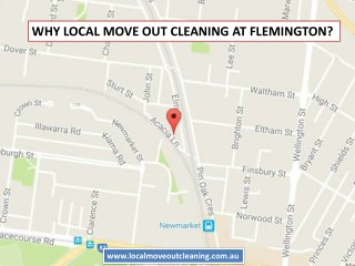 Why Local Move Out Cleaning At Flemington?