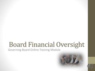 Board Financial Oversight