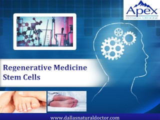 Regenerative Medicine Stem Cells