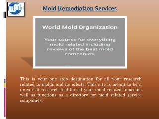 Mold articles