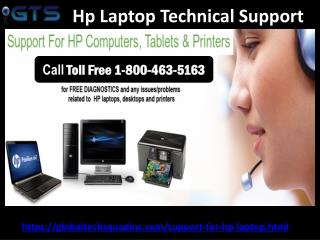 Hp Laptop Customer Technical Support Number |Toll free 1-800-463-5163