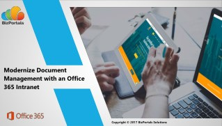 Modernize Document Management with an Office 365 Intranet