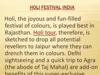 Holi Festival India   Holi Tour