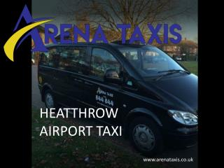 Book a comfortable ride with our Heathrow airport taxi service