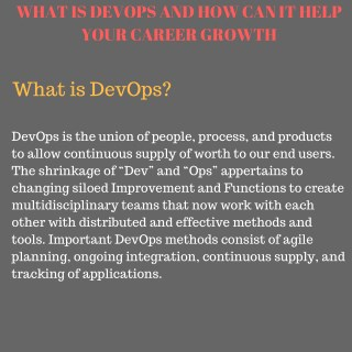Devops Training in Hyderabad by  devopsonlinehub