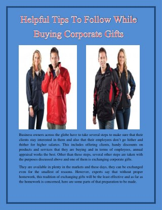 Helpful Tips To Follow While Buying Corporate Gifts