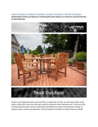 Patio Furniture | Outdoor Furniture | Garden Furniture | Wicker Furniture