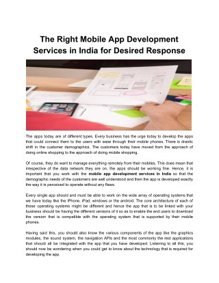 Find Out Best Mobile App Startup Development Companies.