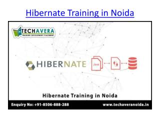 Hibernate Training in Noida | Best Hibernate Training Institute in Noida
