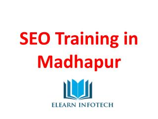 SEO Training in Madhapur | SEO Coaching Classes in Madhapur