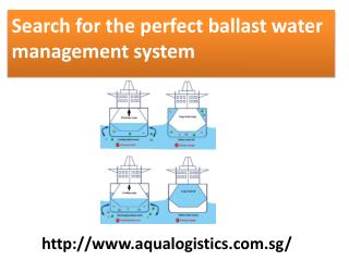 Search for the perfect ballast water management system