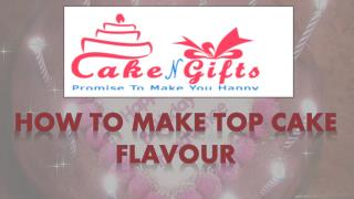Find this top butterscotch cake flavour from CakenGifts.in