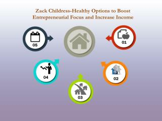 Zack Childress-Healthy Options to Boost Entrepreneurial Focus and Increase Income