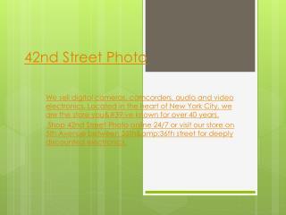 42nd street photo