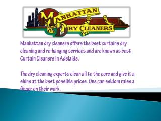 Curtain Dry Cleaners in Adelaide