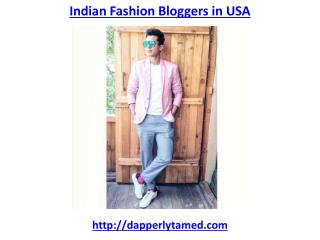Top indian fashion bloggers in usa
