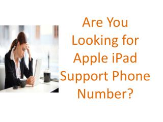 Apple iPad support Number UK