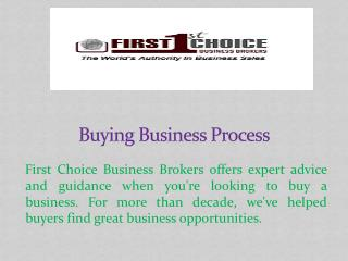 Buying Business Process