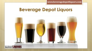 Buy all types of Liquors at Beverage Depot Liquors | Call (410) 661-7922