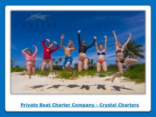 Private Stingray City Charter