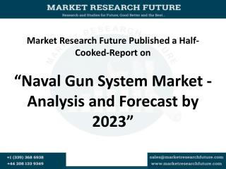 Naval Gun System Market - Analysis and Forecast by 2023