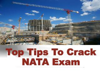 Top Tips to Crack the NATA Exam