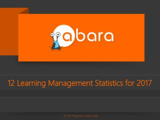 12 Learning Management Statistics for 2017 | Abara LMS