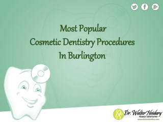 Most Popular Forms Of Cosmetic Dentistry