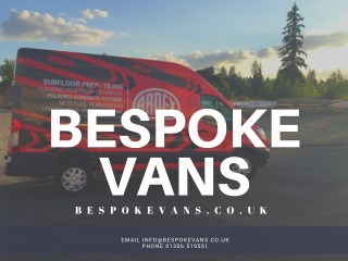 Campervan Conversion Services UK | Customize your van | Bespoke Vans