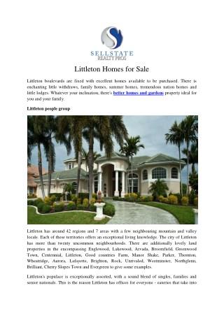 Littleton Homes for Sale