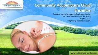 Community Acupuncture Clinic Encinitas