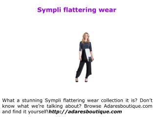 Sympli travel wear