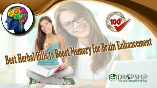 Best Herbal Pills to Boost Memory for Brain Enhancement
