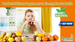 Best Herbal Dietary Supplements for Energy, Stamina Health
