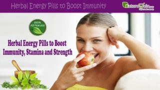 Herbal Energy Pills to Boost Immunity, Stamina and Strength