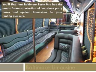 Baltimore Limo Bus
