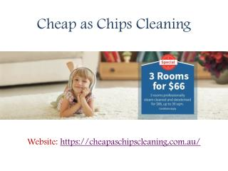 Carpet Cleaning Services in Melbourne - Cheap As Chips Cleaning