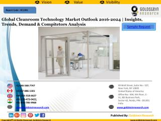 Global Cleanroom Technology Market Outlook 2016-2024 | Insights, Trends, Demand & Compitetors Analysis