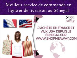 Meilleur service de commande en ligne et de livraison au S�n�gal
