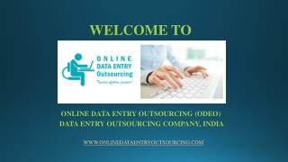 Excel Data Entry Services, India | Online Data Entry Outsourcing (ODEO)