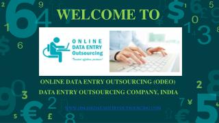 eBook Data Entry Services, India | Online Data Entry Outsourcing (ODEO)