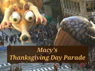 2017 Macy's Thanksgiving Day Parade