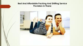 Best And Affordable Packing And Shifting Service Providers in Thane