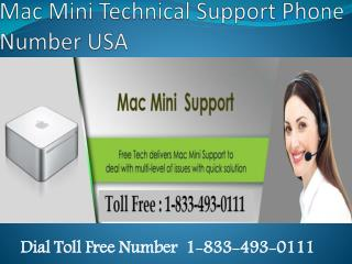 1-833-493-01111 Mac Mini Technical Support Number